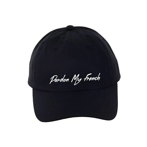 PMF Dad Hat (black)