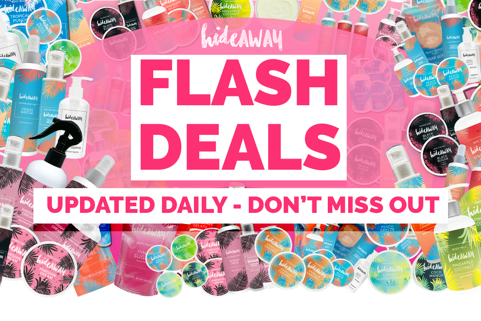 hideAWAY Flash Deals