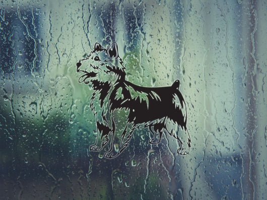 Australian Terrier Die Cut Vinyl Wall Decal (Permanent Sticker) - Fusion Decals
