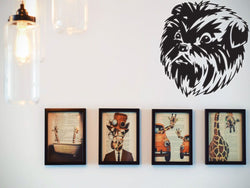 Affenpinscher Die Cut Vinyl Wall Decal (Removable Sticker) - Fusion Decals