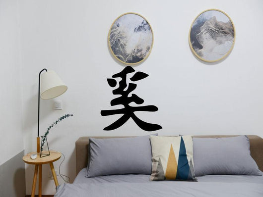 How Style Why Style What_Where Kanji Symbol Character  - Car or Wall Decal - Fusion Decals
