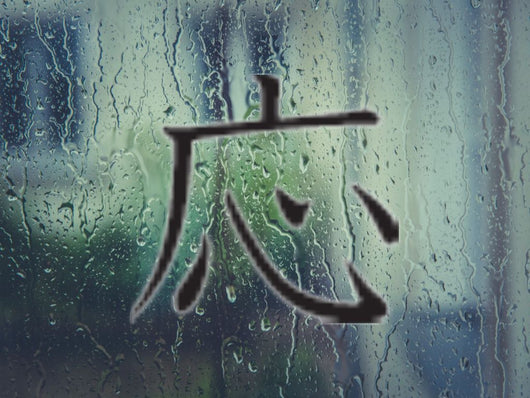 Aid Kanji Symbol Style #5 Die Cut Vinyl Decal Sticker - Fusion Decals