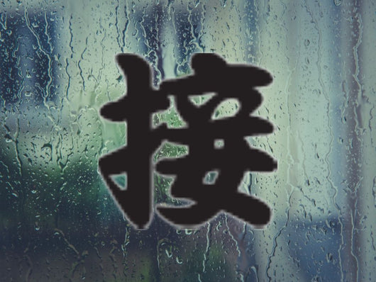 Alongside Kanji Symbol Style #3 Die Cut Vinyl Decal Sticker - Fusion Decals