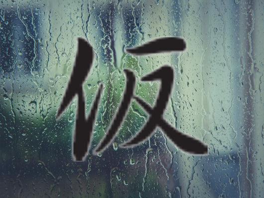 Apparent Kanji Symbol Style #4 Die Cut Vinyl Decal Sticker - Fusion Decals