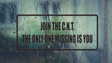 Join the C.N.T The only one Missing is YOU Wall Decal - Removable - Fusion Decals