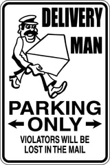 Breeder Parking Only Sign  - Car or Wall Decal - Fusion Decals