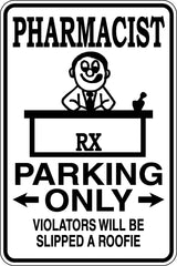 Locksmith Parking Only Sign  - Car or Wall Decal - Fusion Decals