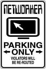 Podiatrist Parking Only Sign  - Car or Wall Decal - Fusion Decals