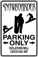 CheerLeader Parking Only Sign  - Car or Wall Decal - Fusion Decals