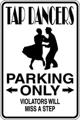 Soccer Player Parking Only #2 Sign  - Car or Wall Decal - Fusion Decals