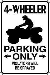 Line Dancers Parking Only #2 Sign  - Car or Wall Decal - Fusion Decals