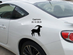 Capricorn-22.12-20.01-2nd  Kanji  - Car or Wall Decal - Fusion Decals