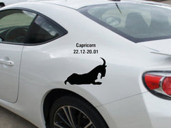 Capricorn-22.12-20.01-1st  Kanji  - Car or Wall Decal - Fusion Decals