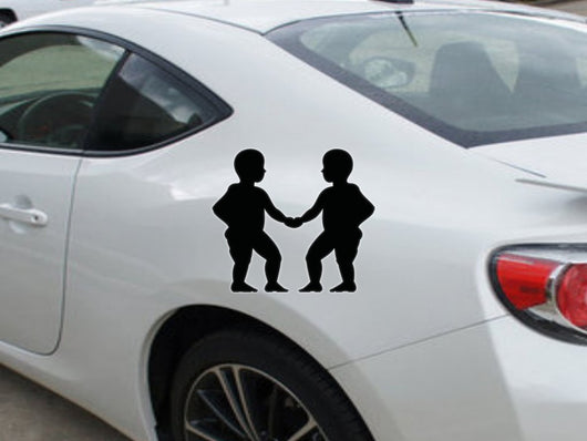 Gemini-2nd  Kanji  - Car or Wall Decal - Fusion Decals