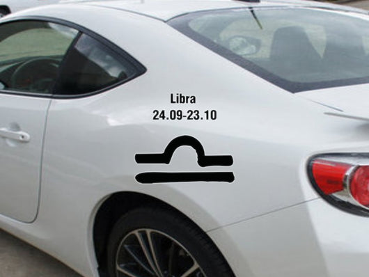 Libra-24.09-23.10-1st  Kanji  - Car or Wall Decal - Fusion Decals
