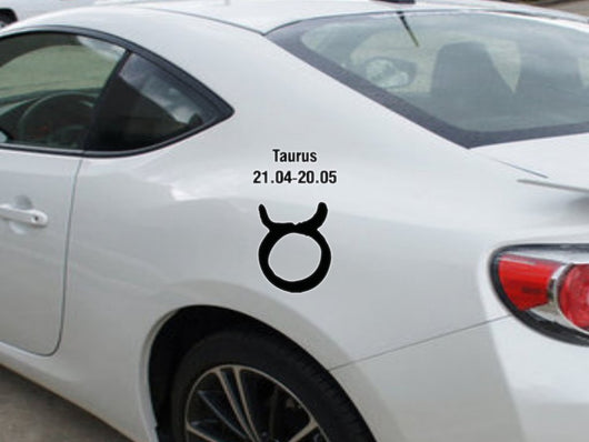 Taurus-21.04-20.05-1st  Kanji  - Car or Wall Decal - Fusion Decals