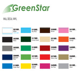 "Hot Pink - GreenStar Indoor Vinyl - Matte Removable Calendered Film 24"" x 6+ Yd"