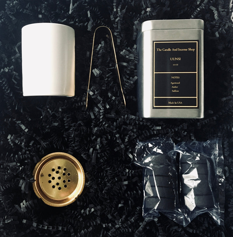 Uunsi Giftset-The Candle And Incense Shop