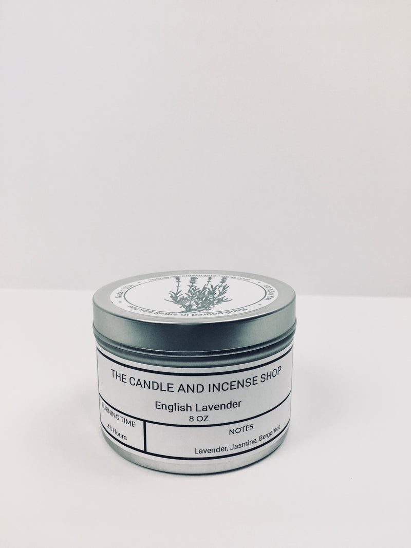 The candle and incense shop- English Lavender Travel Candle