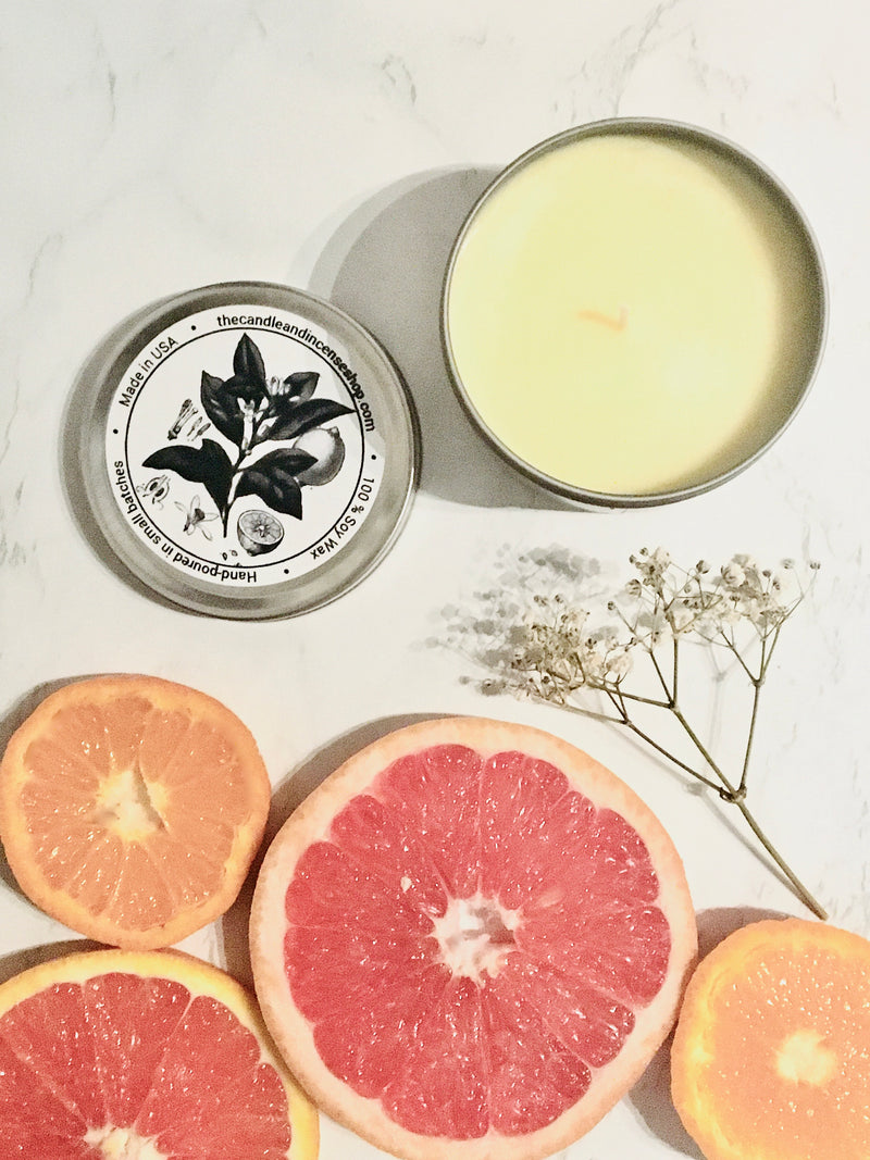 The candle and incense shop- Japanese Citrus Yuzu Travel Candle