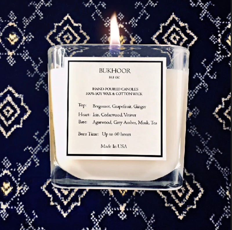 Limited Edition - Bukhoor Candle 10.1 OZ