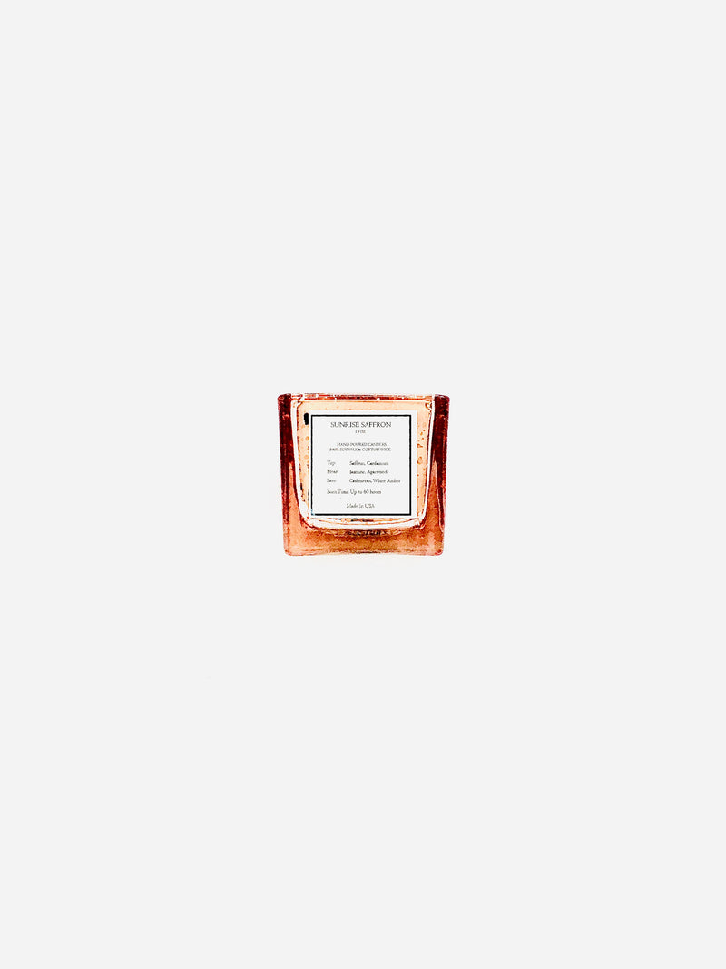 Sunrise Saffron 1.9 oz candle - The Candle And Incense Shop