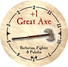 +1 Great Axe - 2005b (Wooden)