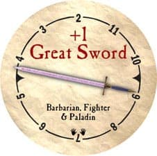 +1 Great Sword - 2006 (Woodie) - C26