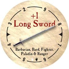 +1 Long Sword - 2006 (Woodie) - C26