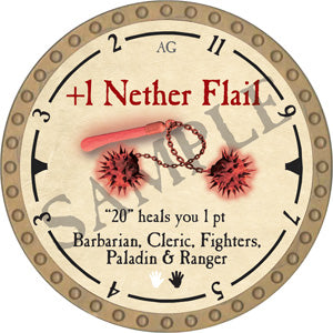 +1 Nether Flail - 2019 (Gold)