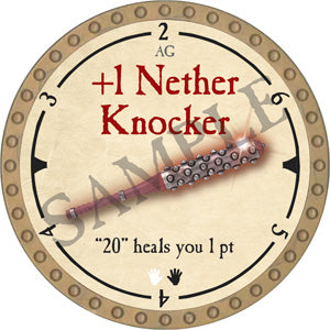 +1 Nether Knocker - 2019 (Gold)