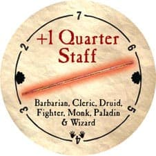 +1 Quarter Staff - 2006 (Woodie) - C26