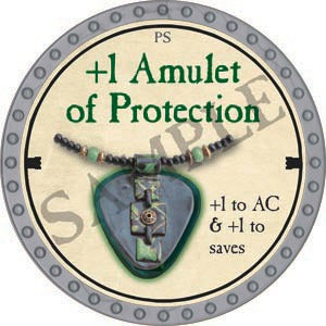 +1 Amulet of Protection - 2020 (Platinum)