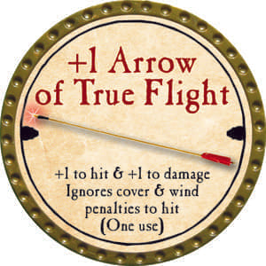 +1 Arrow of True Flight - 2014 (Gold) - C1