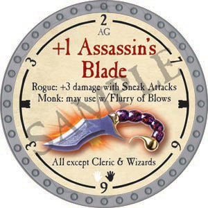 +1 Assassin's Blade - 2020 (Platinum)