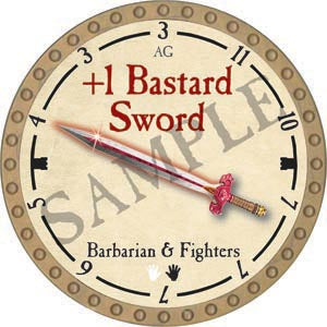 +1 Bastard Sword - 2020 (Gold)