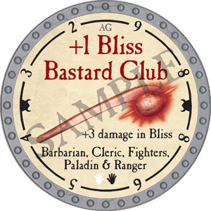 +1 Bliss Bastard Club - 2018 (Platinum) - C37