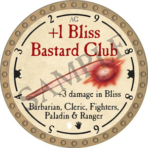 +1 Bliss Bastard Club - 2018 (Gold)
