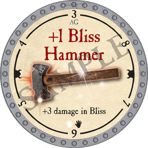 +1 Bliss Hammer - 2018 (Platinum) - C37