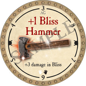 +1 Bliss Hammer - 2018 (Gold)