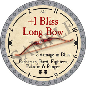 +1 Bliss Long Bow - 2018 (Platinum)