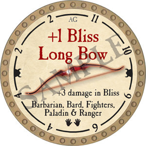 +1 Bliss Long Bow - 2018 (Gold)