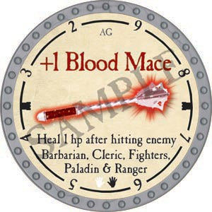 +1 Blood Mace - 2020 (Platinum)