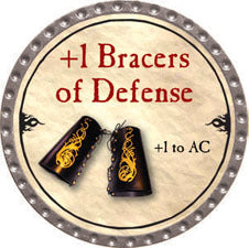 +1 Bracers of Defense - 2010 (Platinum) - C37