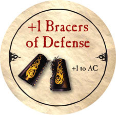 +1 Bracers of Defense - 2006 (Wooden) - C37
