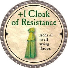 +1 Cloak of Resistance - 2007 (Platinum) - C37