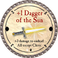+1 Dagger of the Sun - 2011 (Platinum) - C37