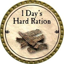 1 Day's Hard Ration - 2009 (Gold)