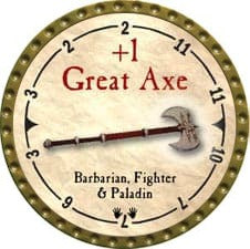 +1 Great Axe - 2007 (Gold)