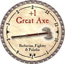 +1 Great Axe - 2007 (Platinum)